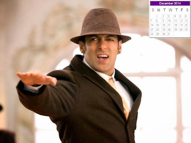 Salman Khan Calendar 2014