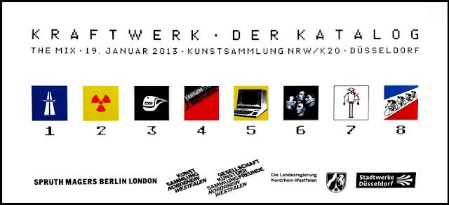 L'étui des lunettes 3D distribuées lors du concert de Kraftwerk à Düsseldorf en 2013 / photo S. Mazars