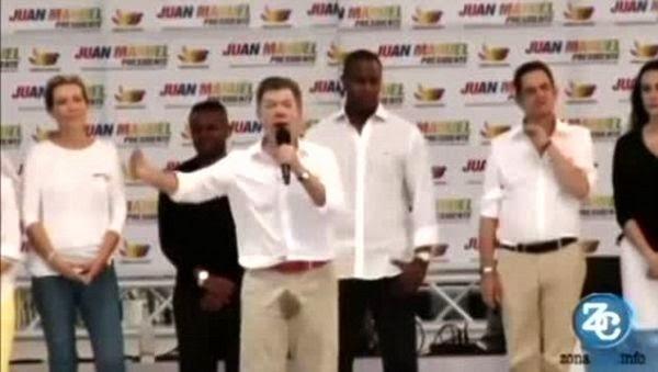 Presiden Kolombia Tertangkap Basah Ngompol Saat Pidato