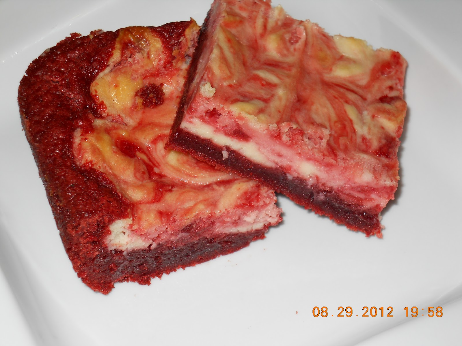 ... Desserts made Delicious: Gluten Free Red Velvet Cheesecake Brownies