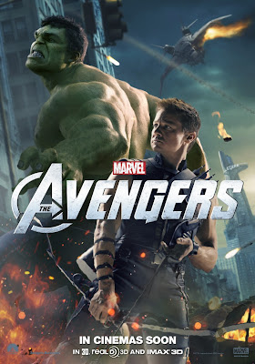 The Avengers International Character Movie Posters - Mark Ruffalo as Hulk & Jeremy Renner as Hawkeye