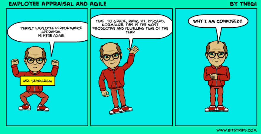 Confusion of Employee Performance Appraisal in Agile – Yearly Appraisal