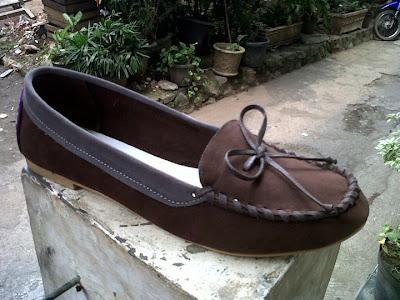 Aneka model sepatu sandal wanita murah,model sepatu wanita Brown