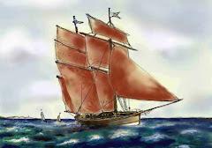 Dessin de bateau, en numérique