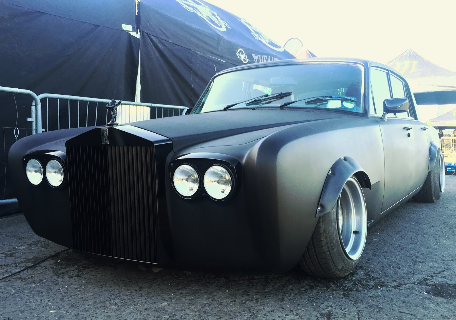 First Lamborghini Ever Made >> Yes, This Is A Rolls-Royce Silver Shadow Drift Car | carscoops.com