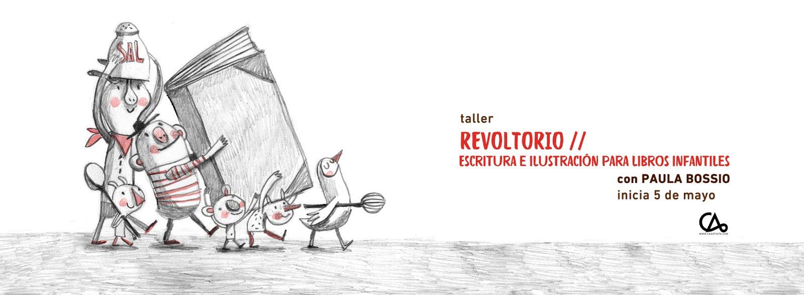 REVOLTORIO: ilustración infantill // 5 de mayo