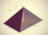тент пирамида самодельный эскиз