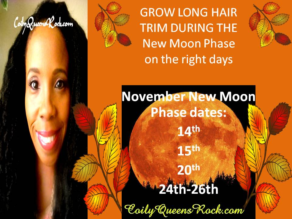 2016 Moon Phases and Hair Growth