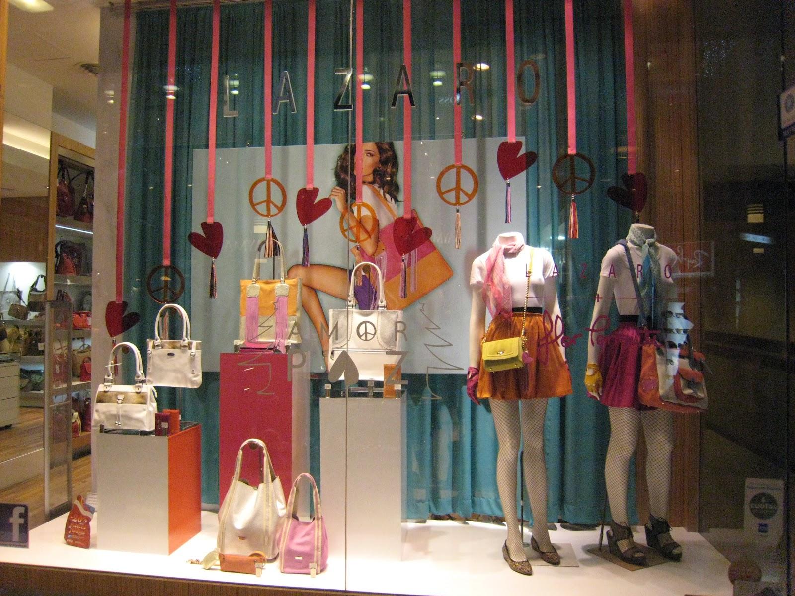 We love shops love y los corazones los protagonistas de - Ideas escaparates originales ...