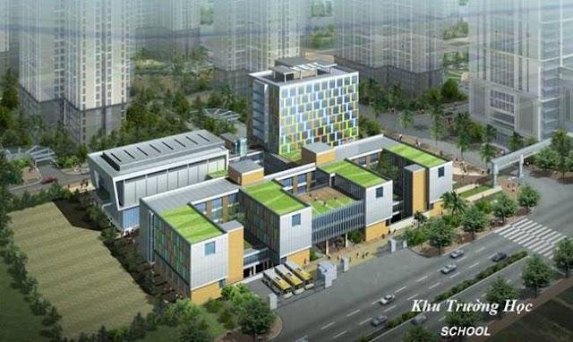 Trường học tại Goldmark City 136 Hồ Tùng Mậu