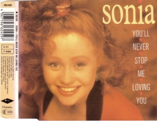 Sonia - You'll Never Stop Me From Loving You (CD-Maxi 1989)
