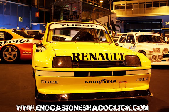 Renault 5 Le car Turbo USA Madrid Motor Days