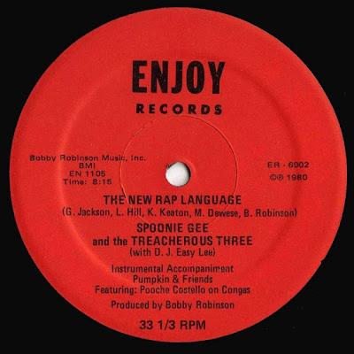 Spoonie Gee And Treacherous Three – The New Rap Language / Love Rap (VLS) (1980) (320 kbps)
