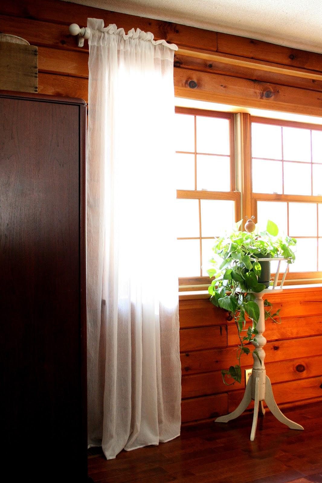 Log Cabin Sewing Studio Window Coverings