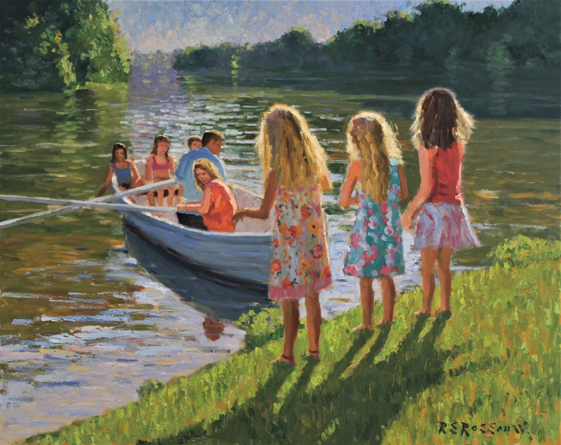 Roelof Rossouw Sunday Afternoon at the River