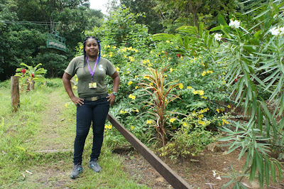Tresia Lionel - tour guide for Rainforest Adventures St. Lucia excursions, attractions, nature tours, and things to do.