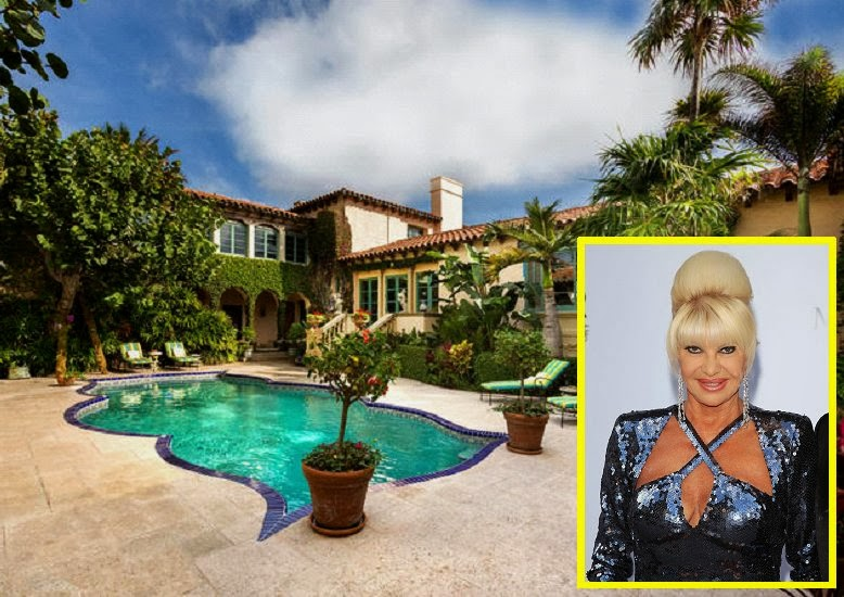 "Ivana Trump sells her‭ ""‬Concha Marina‭"" ‬Mansion in Palm Beach for‭ ‬$‭ ‬18.9‭ ‬million‭"