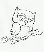 Desenho de coruja para imprimir e colorir. Para pintar este desenho basta . (desenho de coruja para colorir)