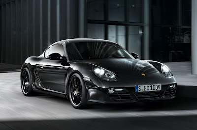 Porsche Cayman S Black Edition 2012 photos