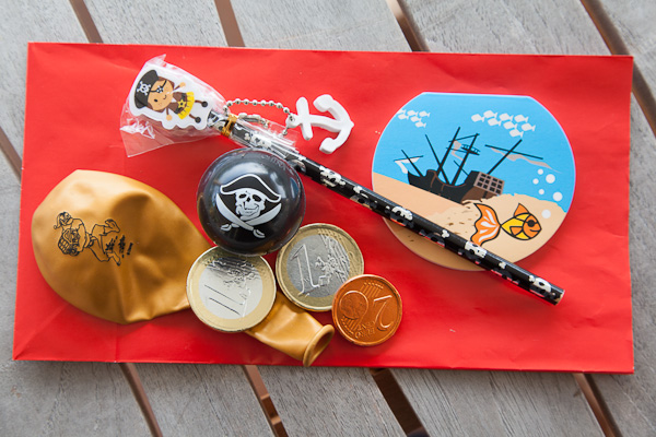 des cadeaux pirates