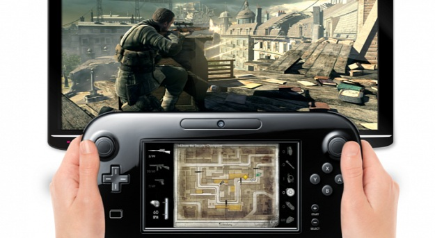 Screenshot of Wii U version of Sniper Elite V2