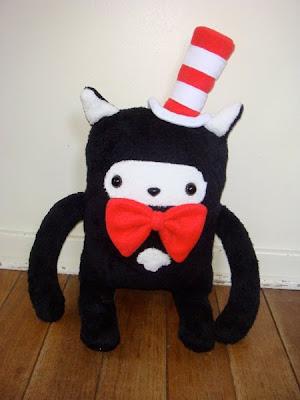 Denn Rodriguez cat in the hat plush