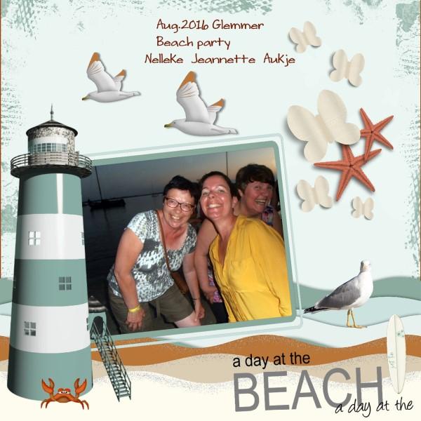 Sept.2016 - Aug.2016 Glemmer Beach party 2