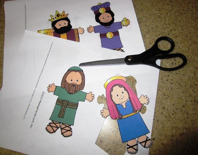 ... nativity that was kid friendly--something my grandkids would enjoy