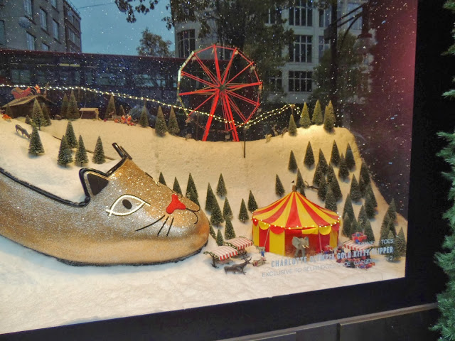 Golden kitty slipper shoe by Charlotte Olympia
