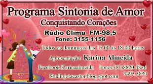 PROGRAMA SINTONIA DE AMOR