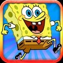 Underwater World Rush: Spongebob HD Edition (With SquarePants, Patrick Star, Squidward, Krabs & Sandy Cheeks) App iTunes App Icon Logo By Richard Lim - FreeApps.ws
