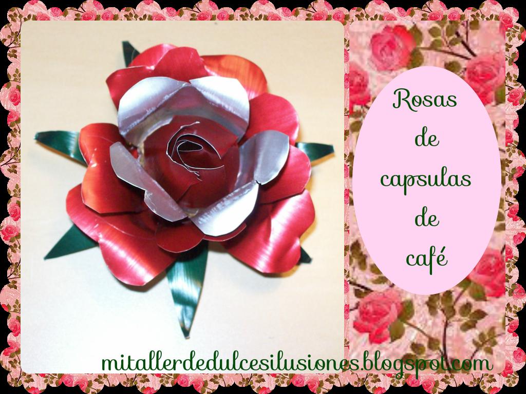 paso de la flor,pues me gustaría enseñaros hacer también una rosa.Es muyyyy sencillo,yo luego las utilizo para bisutería(broches,colgantes),para decorar