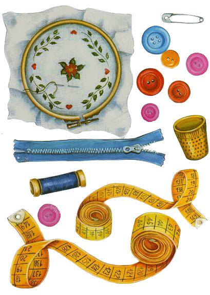 Lamina para decorar cuarto de costura