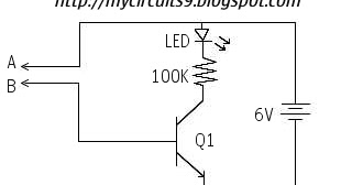 SIMPLE CONTINUITY    TESTER    CIRCUIT   My Circuits 9