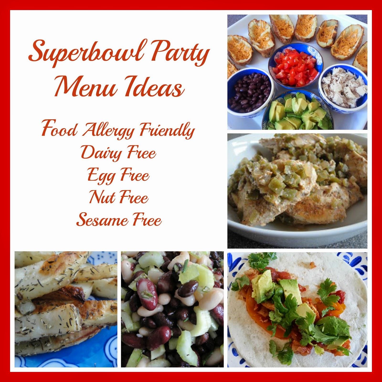 Last Minute Superbowl Party Menu Ideas