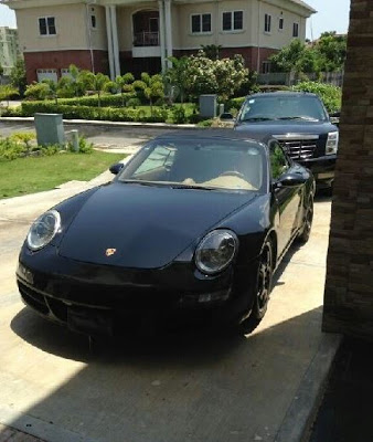 Check Out Don Jazzy's Porshe Carrera GTS
