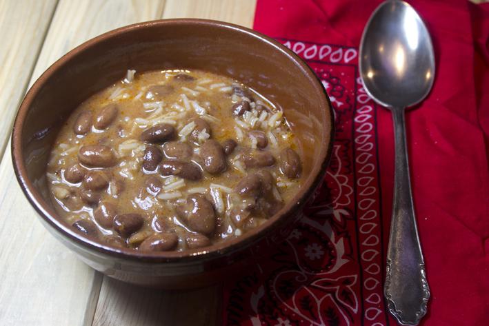 Cocina mesa y mantel jud as pintas con arroz - Arroz con judias pintas ...