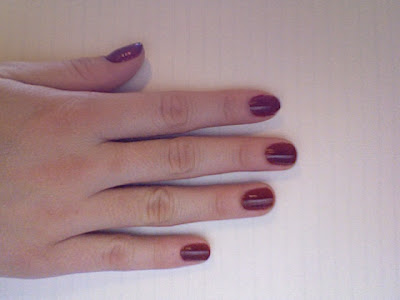 estee+lauder+enchanted+garnet Polished: Estee Lauder Pure Color Nail Lacquer in Enchanted Garnet