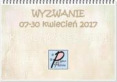 Wyzwanie w Paper Passion.pl do 30-04-2017