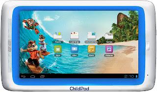 Tablet Android untuk anak-anak