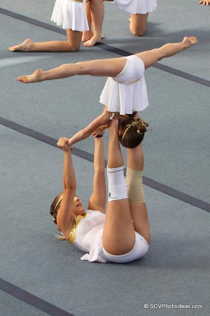 Rhythmic Acrobatic Gymnastics - vertical T