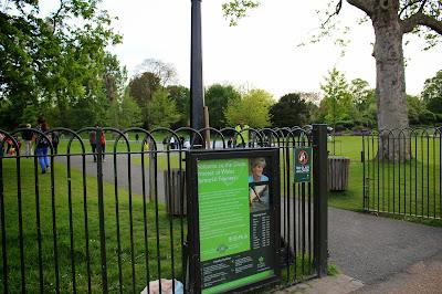 Fuente de Diana Hyde Park Londres