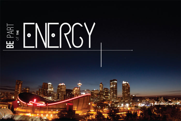 Terra Pope - Calgary, Be part of the energy