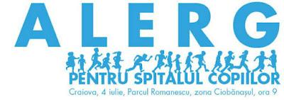 Alerg pentru Spitalul Copiilor, Craiova 04 Iulie