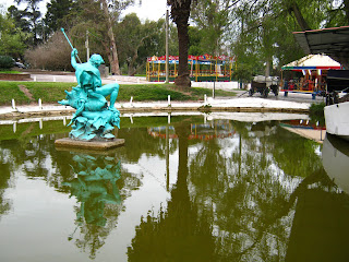 pic of the lake at the prado Montevideo uruguay