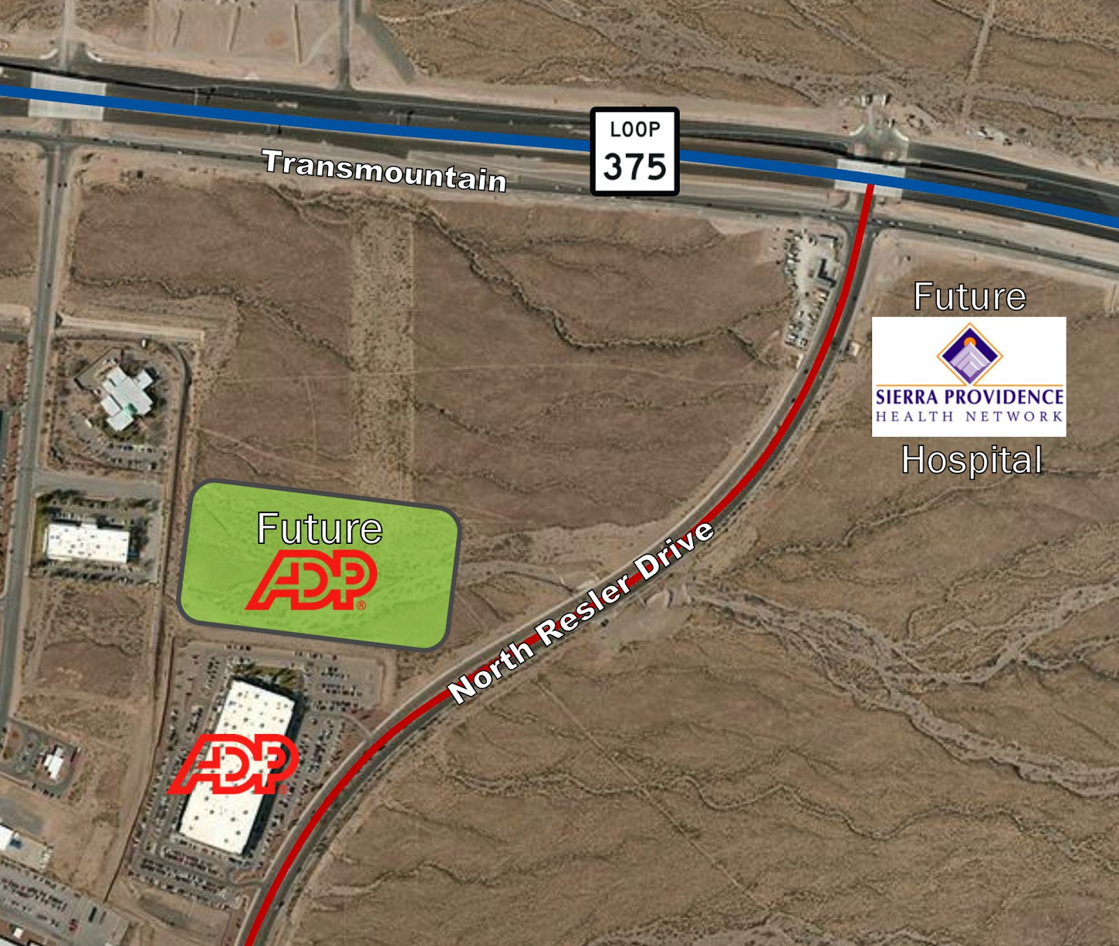 El paso development news adp to add 150 000sf facility in for New homes el paso tx west side