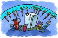 CFC capa de ozono