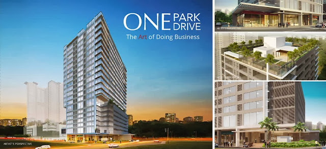 One Park Drive by Avida a Global City Office for Sale