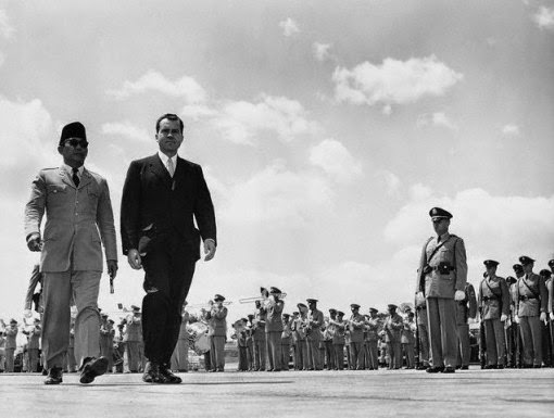 President Sukarno in a Superpower.