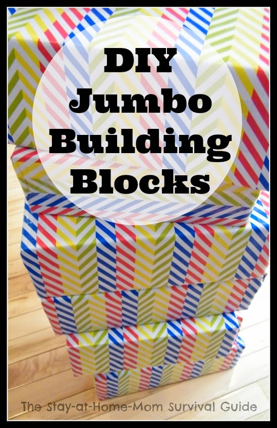 diy jumbo building blocks